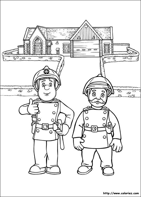 69 Dessins De Coloriage Sam Le Pompier A Imprimer Sur Laguerche Com