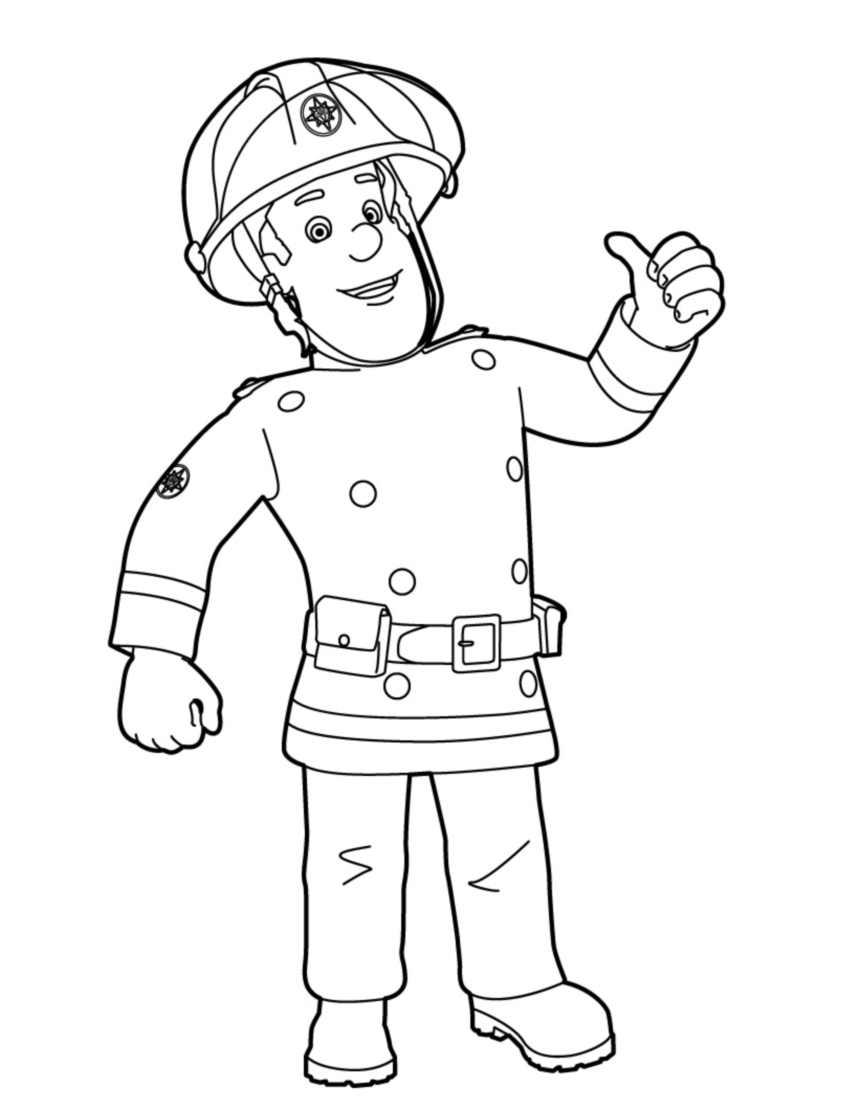 69 dessins de coloriage sam le pompier imprimer sur page 2 - Sam le pompier gratuit ...