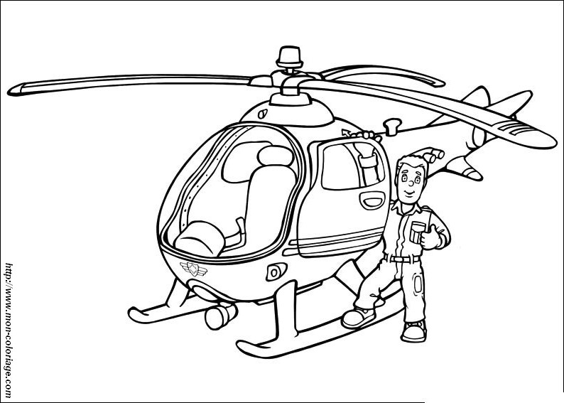 69 dessins de coloriage sam le pompier imprimer sur - Dessin sam le pompier ...