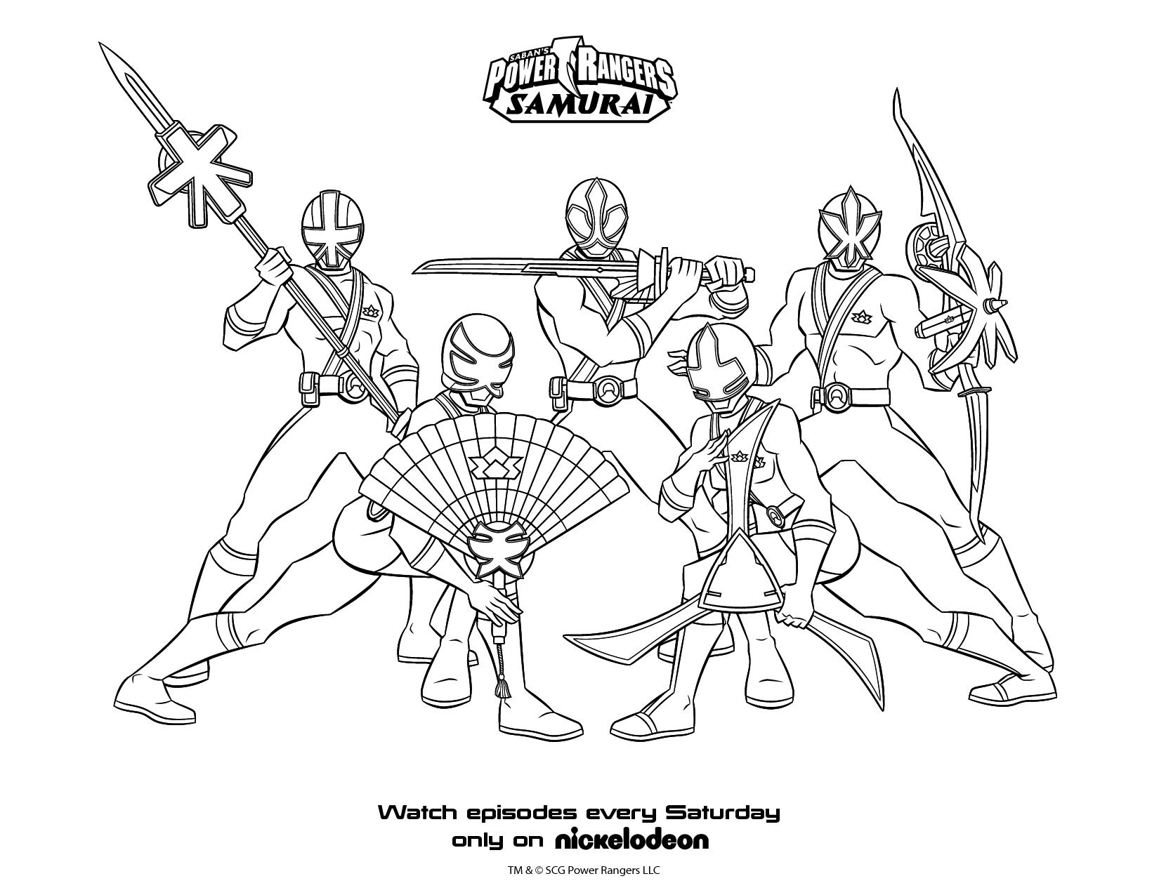 Jeux De Coloriage Samurai