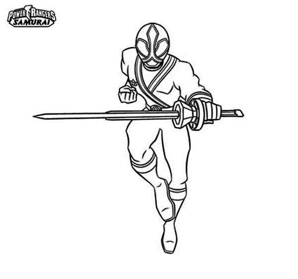 31 dessins de coloriage samourai imprimer sur laguerche - Coloriage power rangers samurai ...