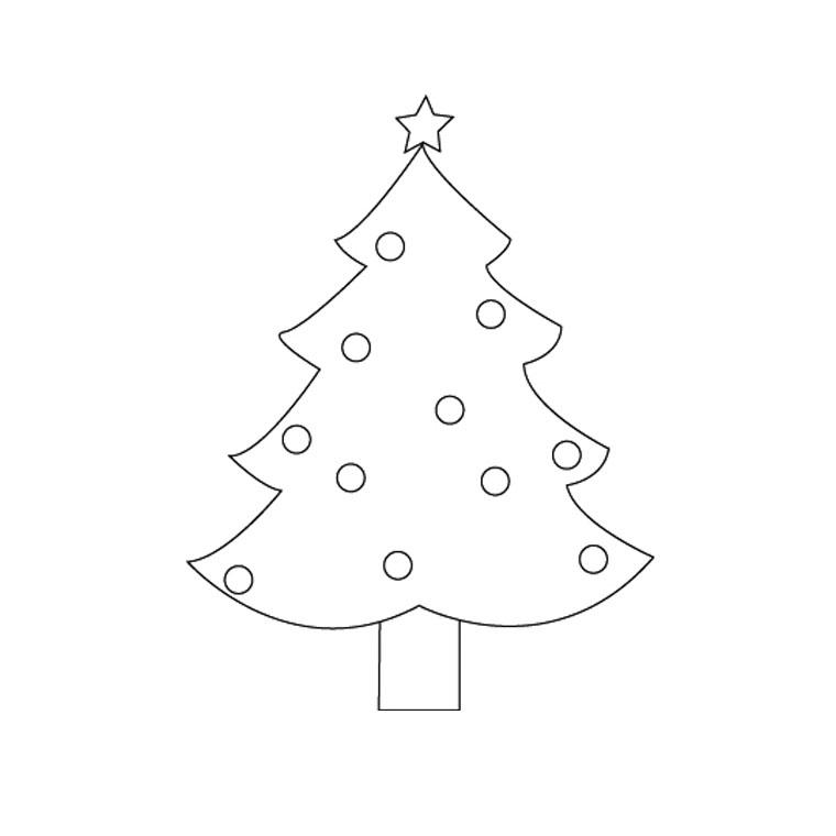 Sélection de coloriage sapin de Noel à imprimer sur ...