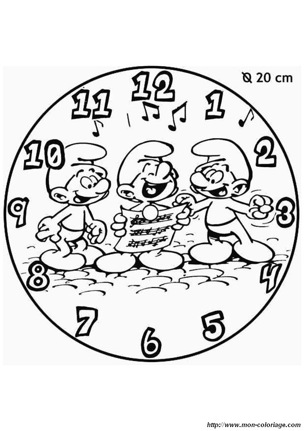 coloriage schtroumpf gratuit dessin a imprimer 127 - Coloriage Com