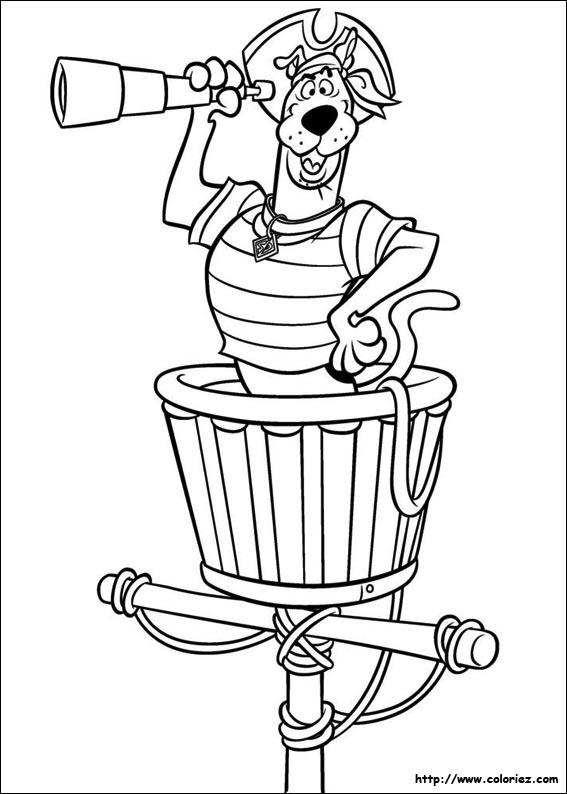 118 dessins de coloriage scooby doo à imprimer sur LaGuerche.com - Page 11