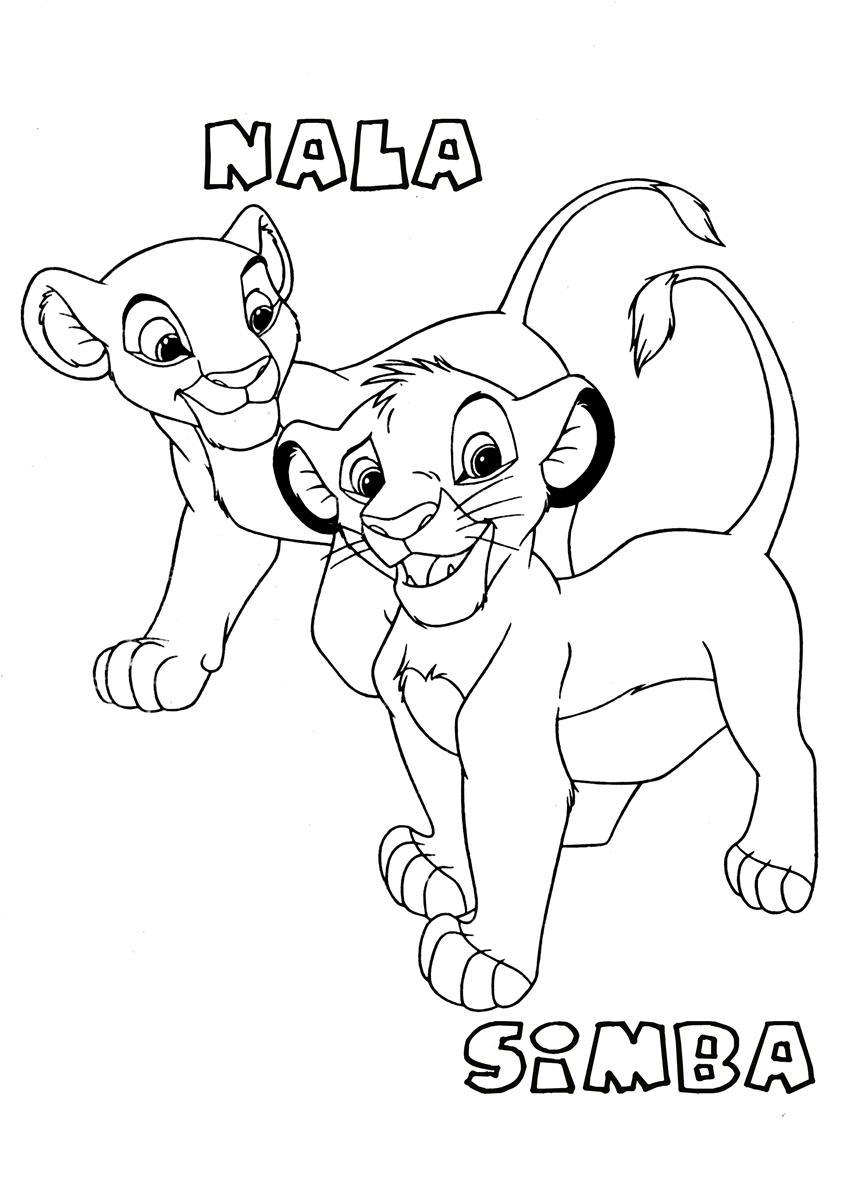 56 dessins de coloriage simba imprimer sur - Image coloriage ...