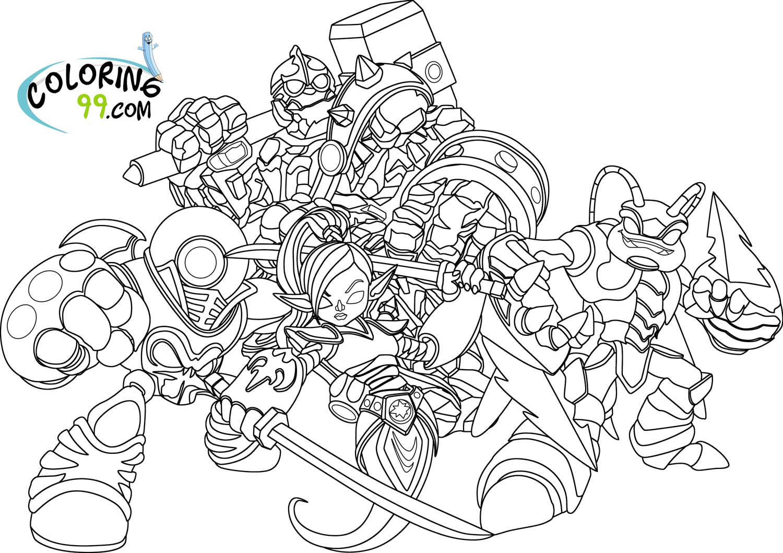 83 dessins de coloriage skylanders imprimer sur for Skylanders imaginators coloring pages