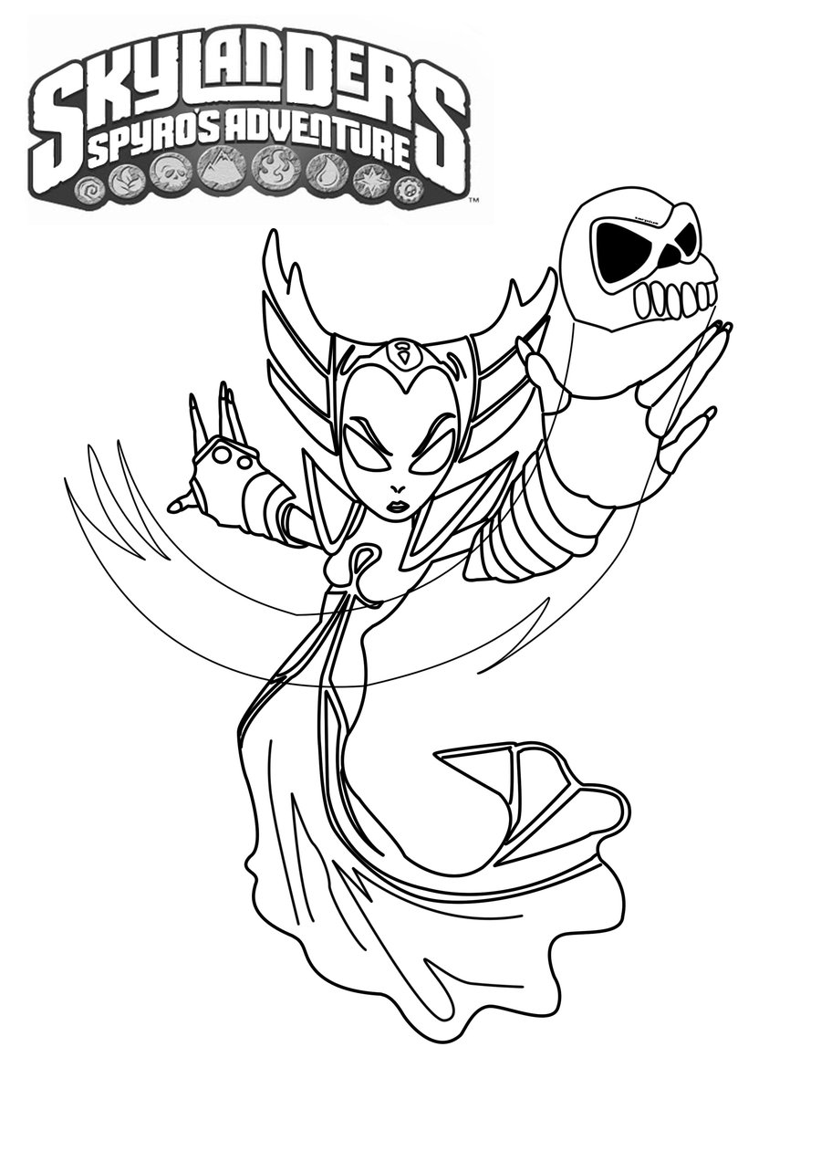 skylanders coloring pages terrafin restaurant - photo#10