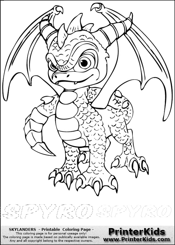 skylanders swashbuckler coloring pages - photo#7