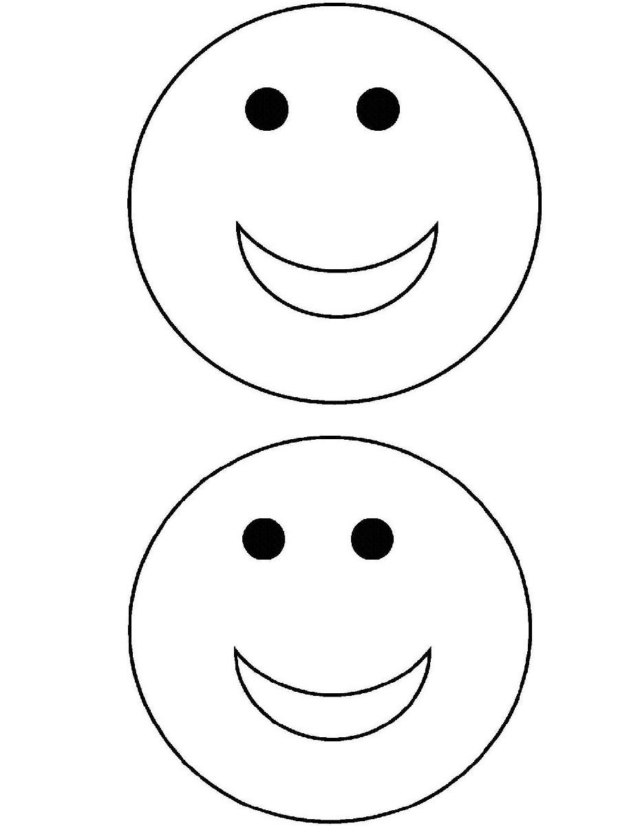 60 dessins de coloriage smiley imprimer sur laguerche - Smiley a imprimer ...