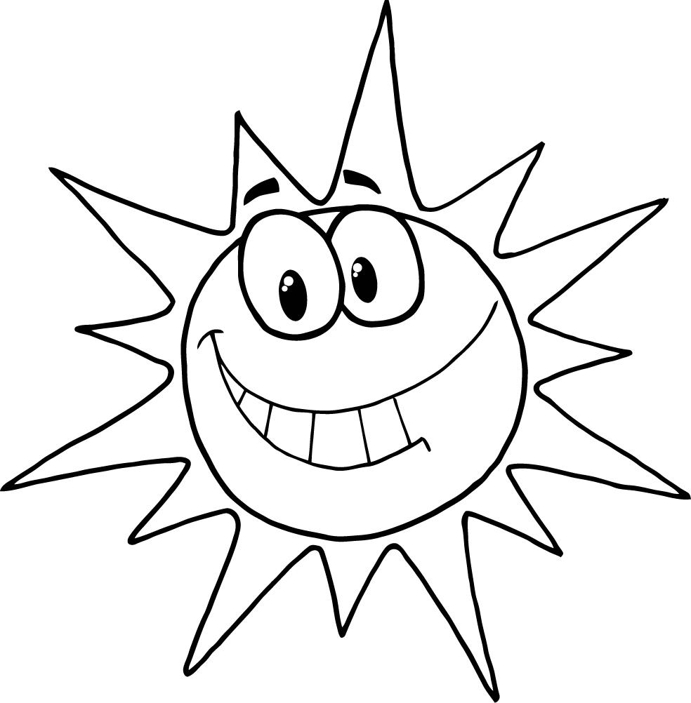 Image #22482 - Coloriage smiley gratuit