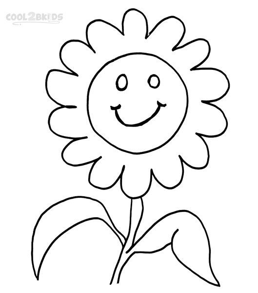 Image #22484 - Coloriage smiley gratuit