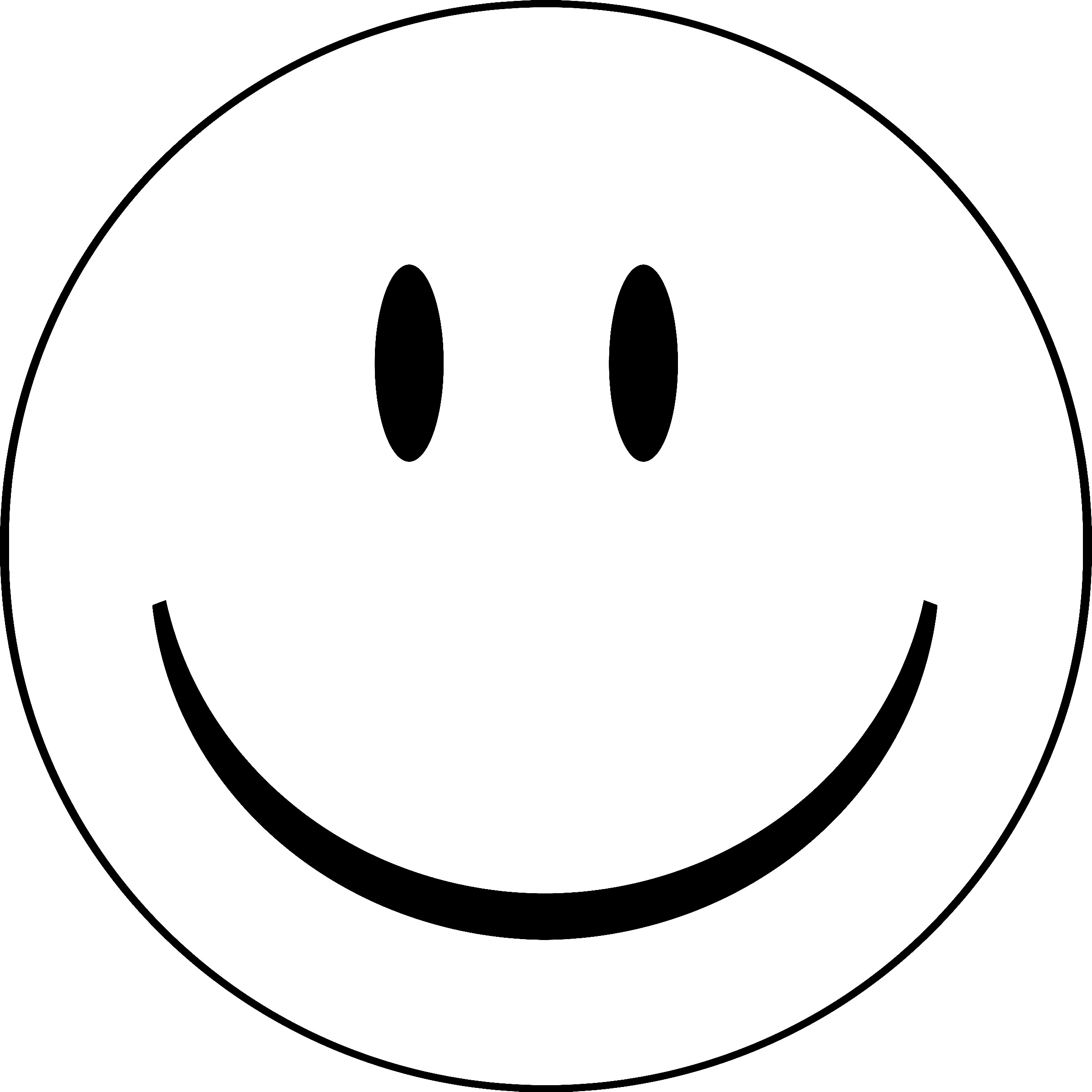 Line Drawing Of Happy Face : Dessins de coloriage smiley à imprimer sur laguerche