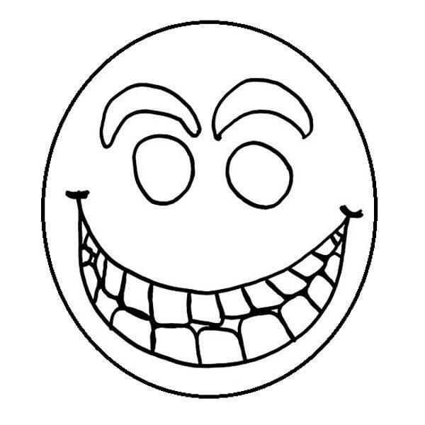 60 dessins de coloriage smiley imprimer sur page 5 - Image de smiley a imprimer ...