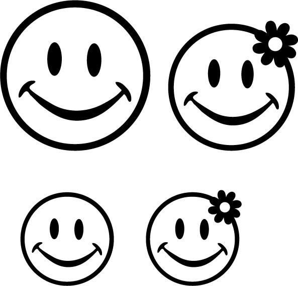 60 dessins de coloriage smiley imprimer sur laguerche. Black Bedroom Furniture Sets. Home Design Ideas