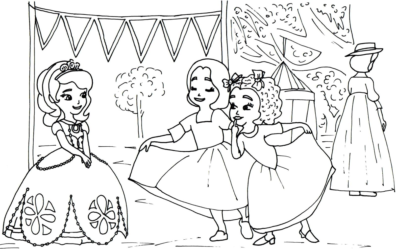Sélection de dessins de coloriage sofia à imprimer sur LaGuerche.com - Page 1