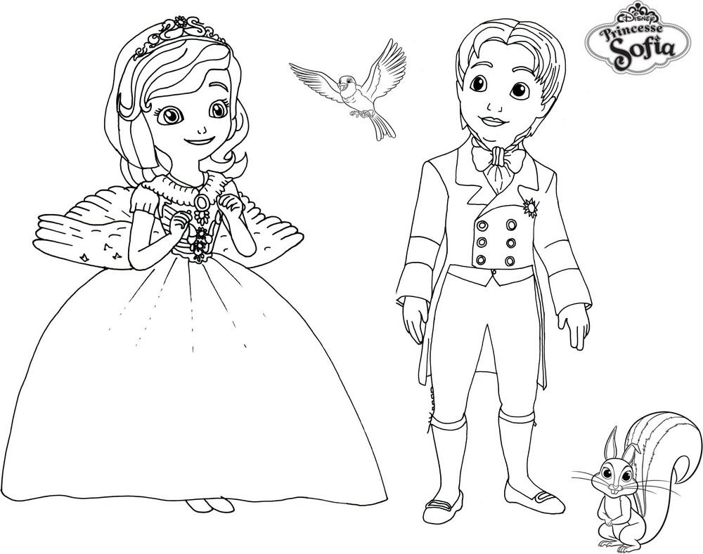 Sélection de dessins de coloriage sofia à imprimer sur ...