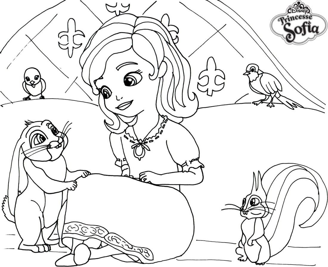 S lection de dessins de coloriage sofia imprimer sur - Dessin de sofia ...