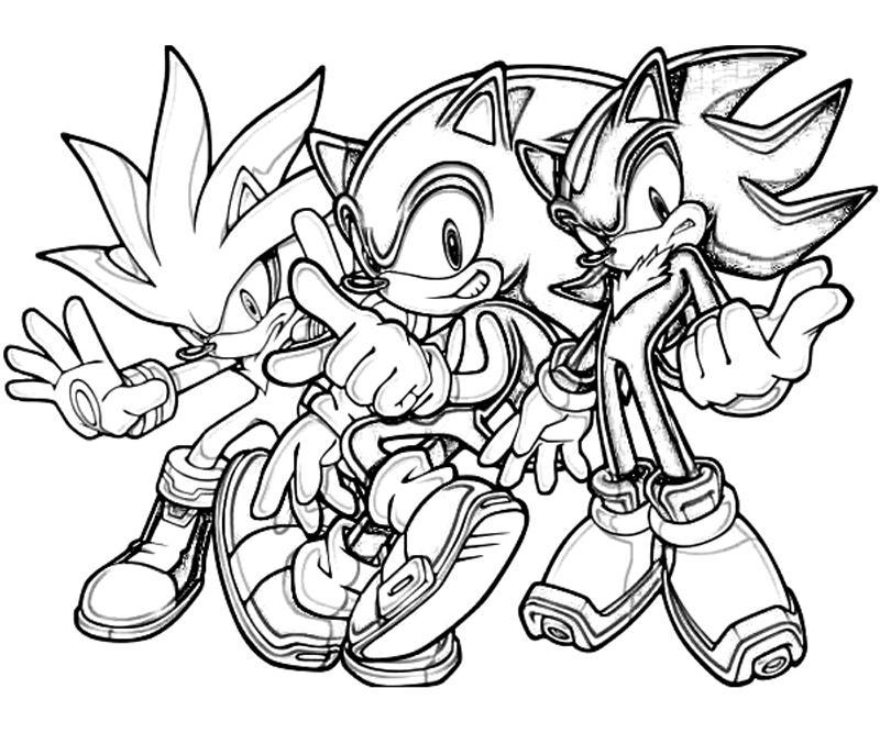 97 Dessins De Coloriage Sonic A Imprimer Sur LaGuerche