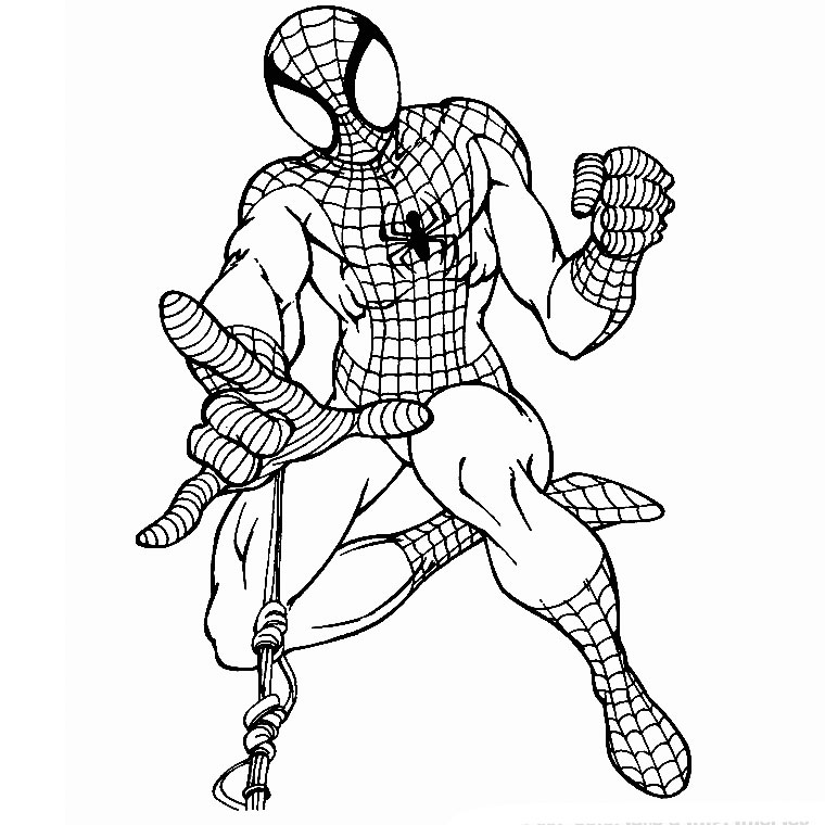 le coloriage tv spiderman pour imprimer le coloriage tv spiderman