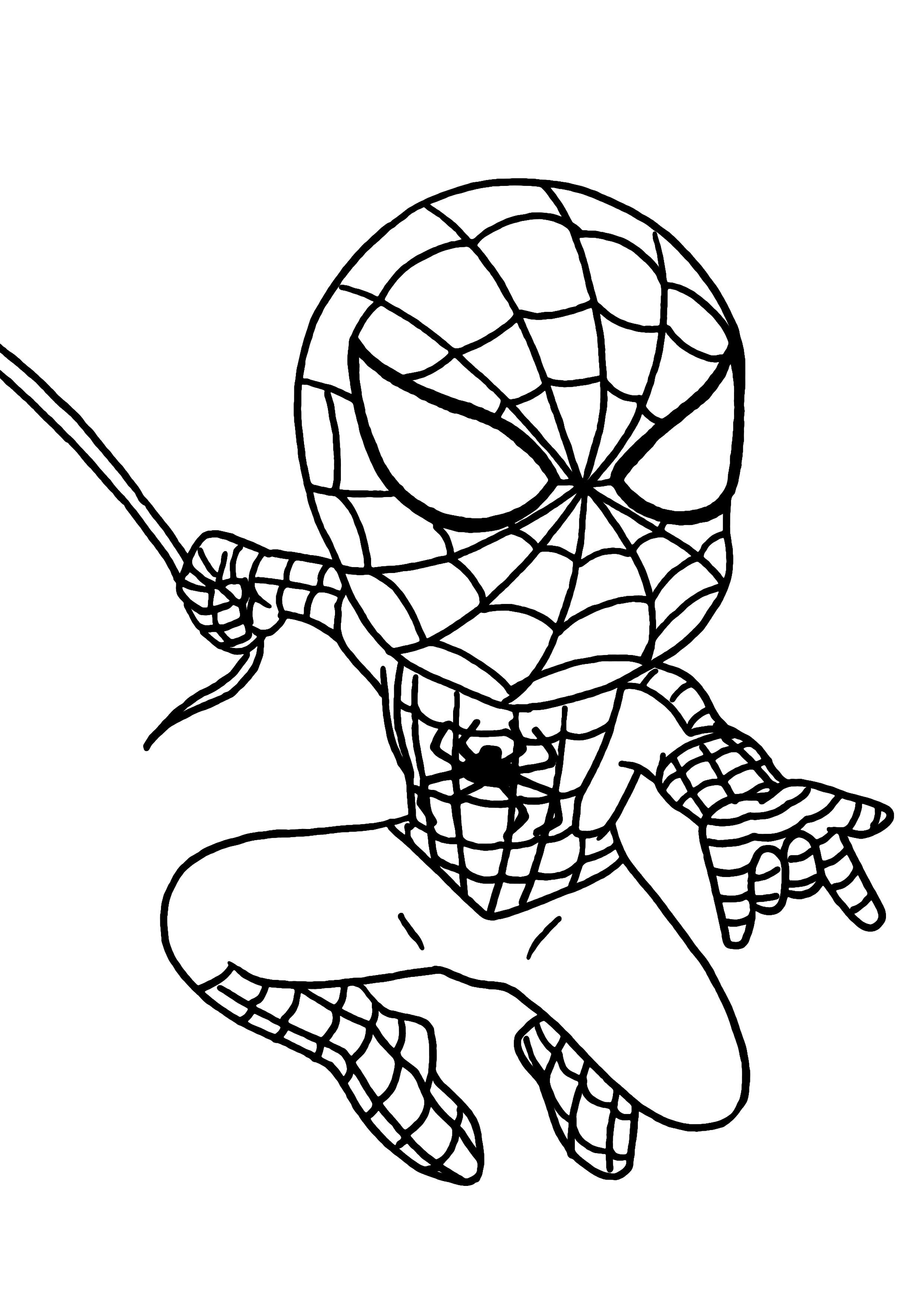 spiderman nom du dessin coloriage spiderman catégorie coloriages