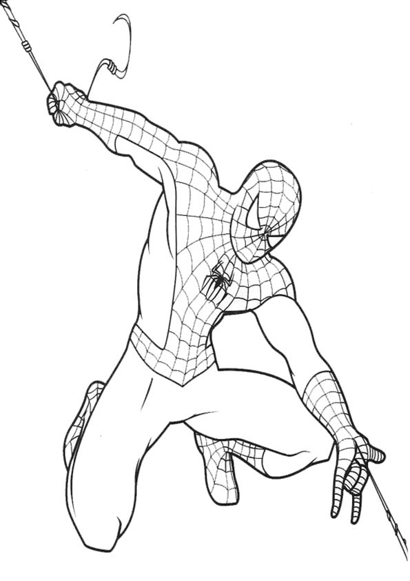 coloriage spiderman coloriage a imprimer