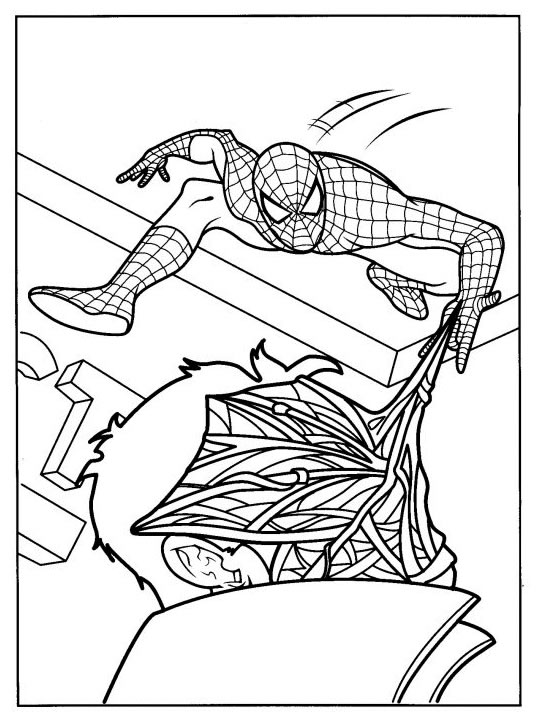 coloriage enfants.fr spiderman