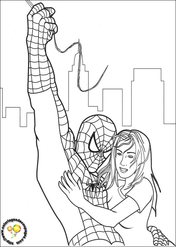 spiderman coloriages à colorier. les coloriages et dessin à