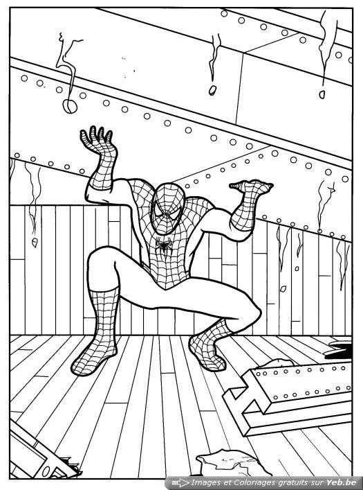 coloriage speederman