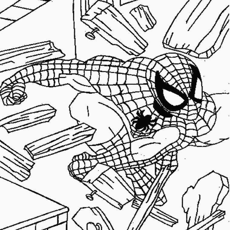 imprimer le coloriage spiderman pour imprimer le coloriage spiderman
