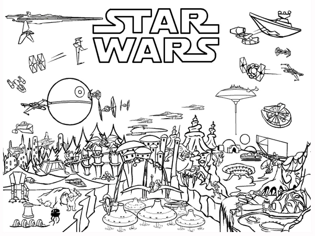 Coloriage Adulte Star Wars A Imprimer Gratui