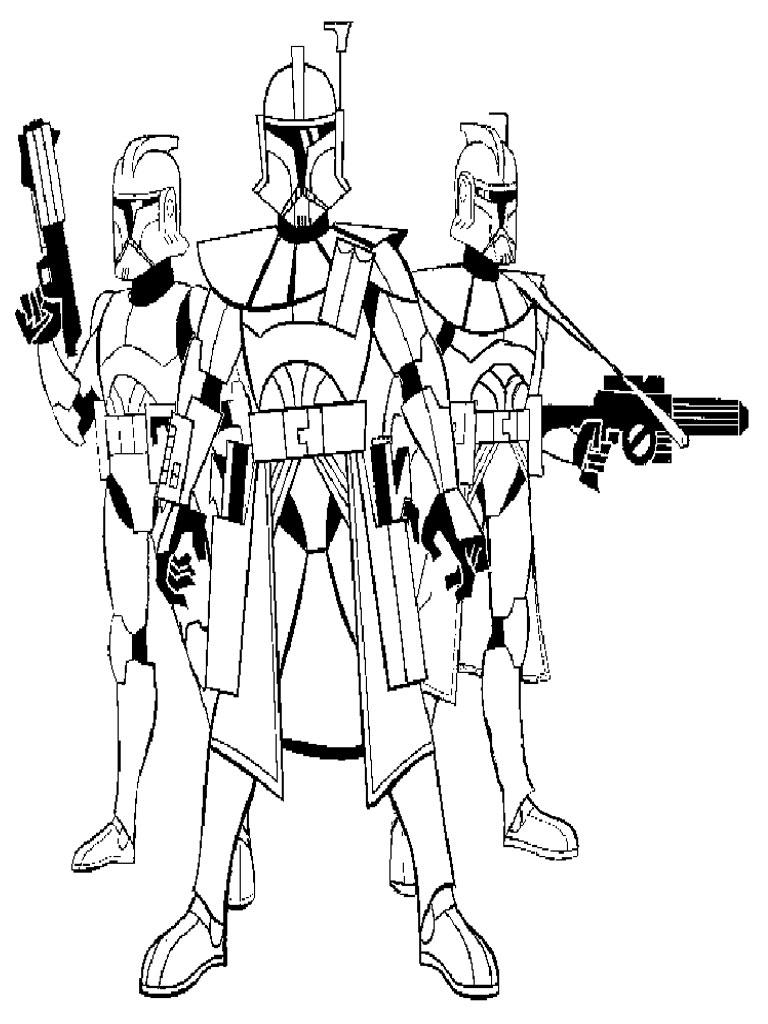 110 dessins de coloriage star wars imprimer sur page 3 - Coloriage star wars 3 ...