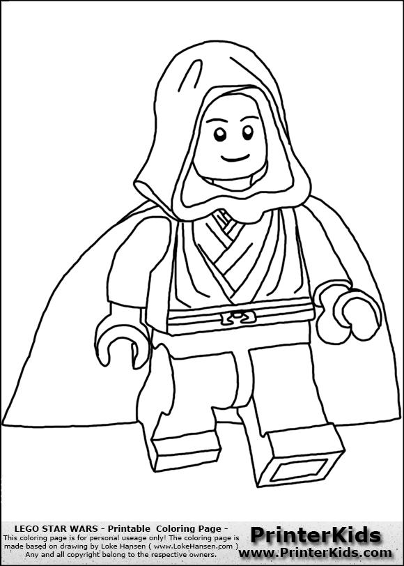 110 dessins de coloriage star wars imprimer sur page 10 - Dessin star wars lego ...