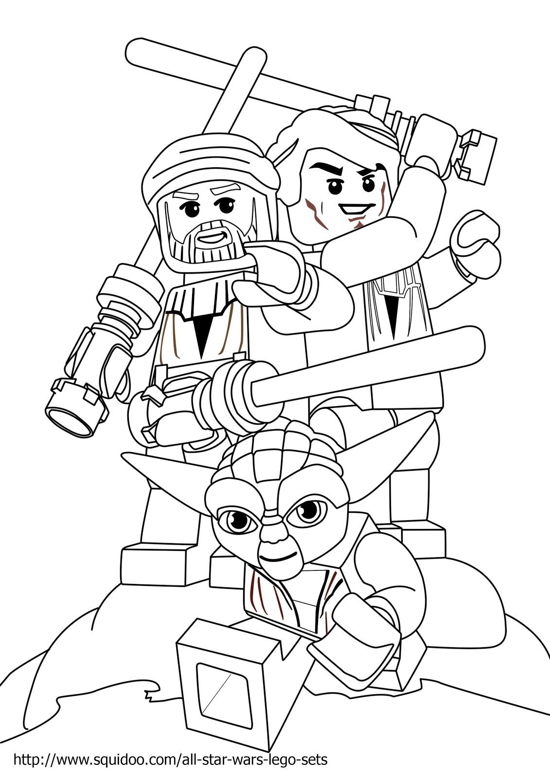 110 dessins de coloriage star wars imprimer sur page 11 - Star wars coloriage gratuit ...