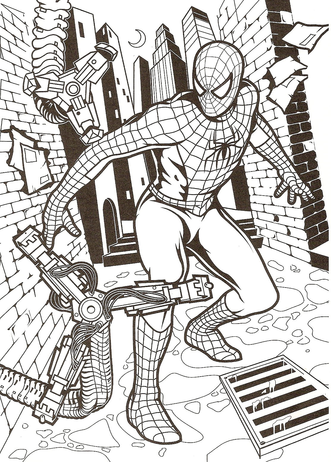 coloriage image   coloriage spiderman