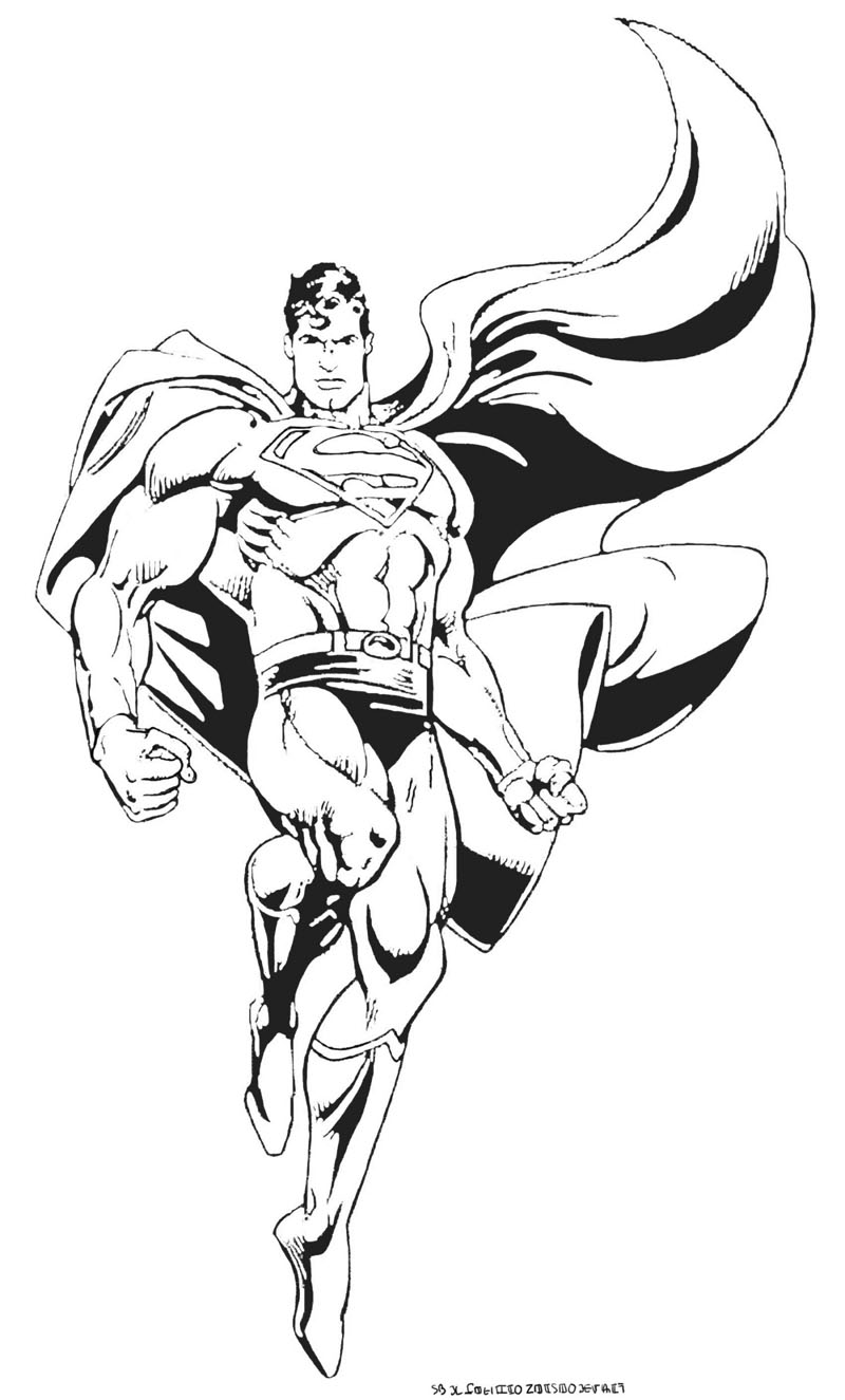 dessin super hero