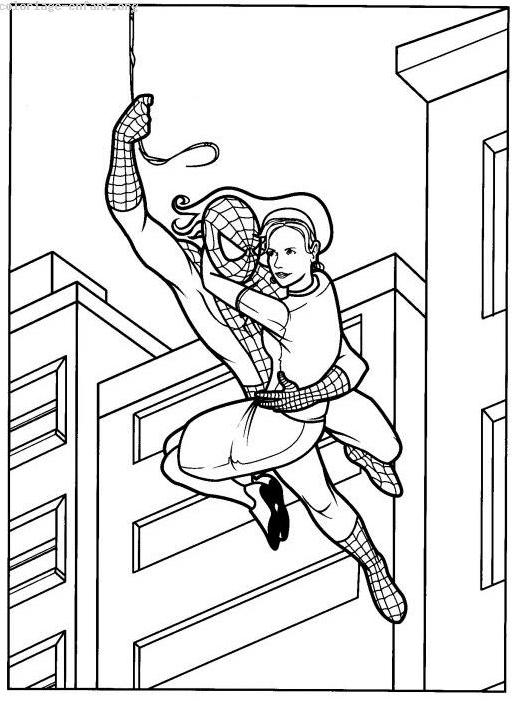 coloriages spiderman à télécharger et à colorier gratuits