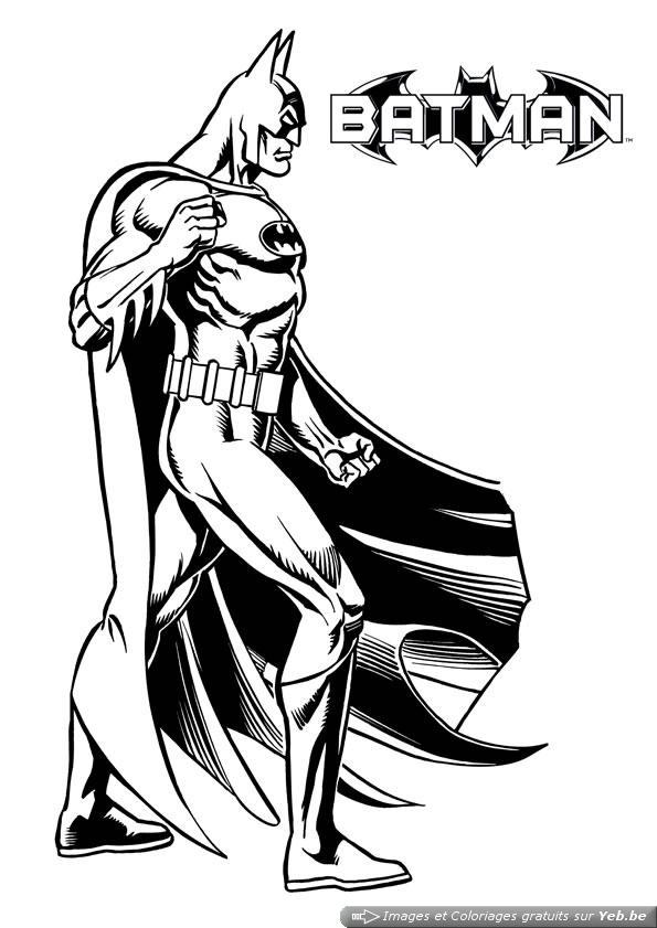 coloriage de toute les super hero