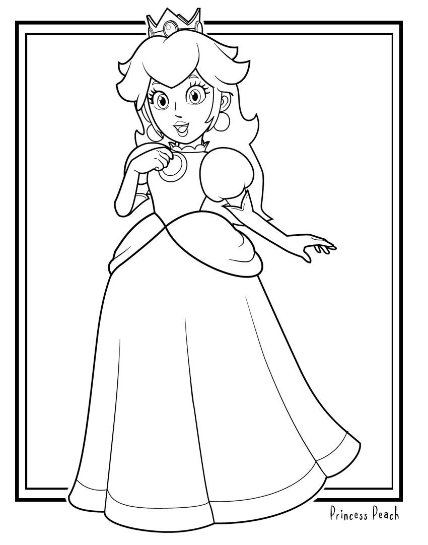 80 Dessins De Coloriage Super Mario Bros à Imprimer Sur Laguerche