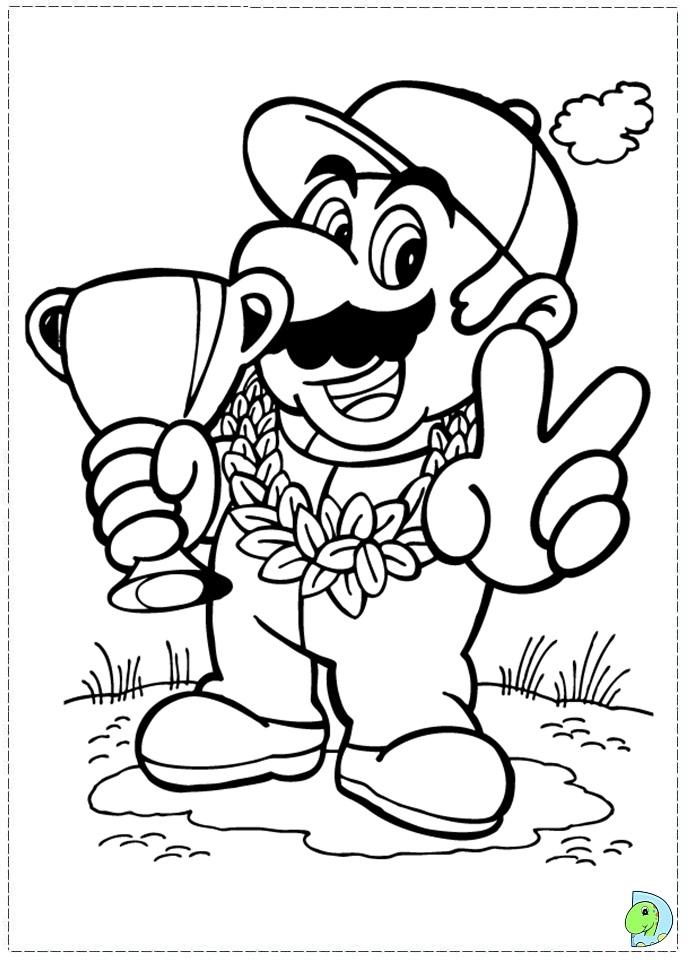 80 dessins de coloriage super mario bros imprimer sur - Coloriage mario bros a imprimer ...