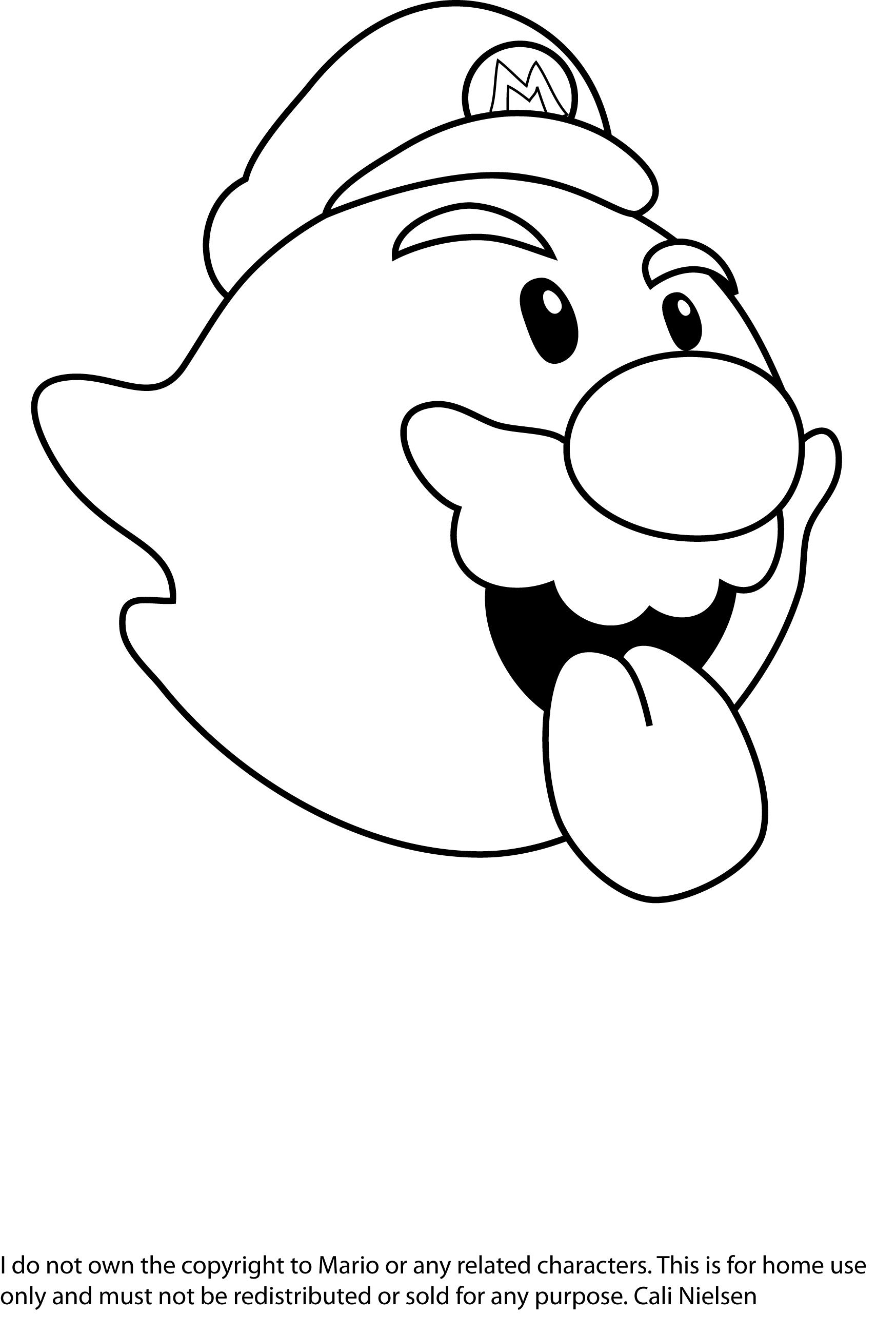 Impressionnant Dessin A Imprimer Gratuit Mario