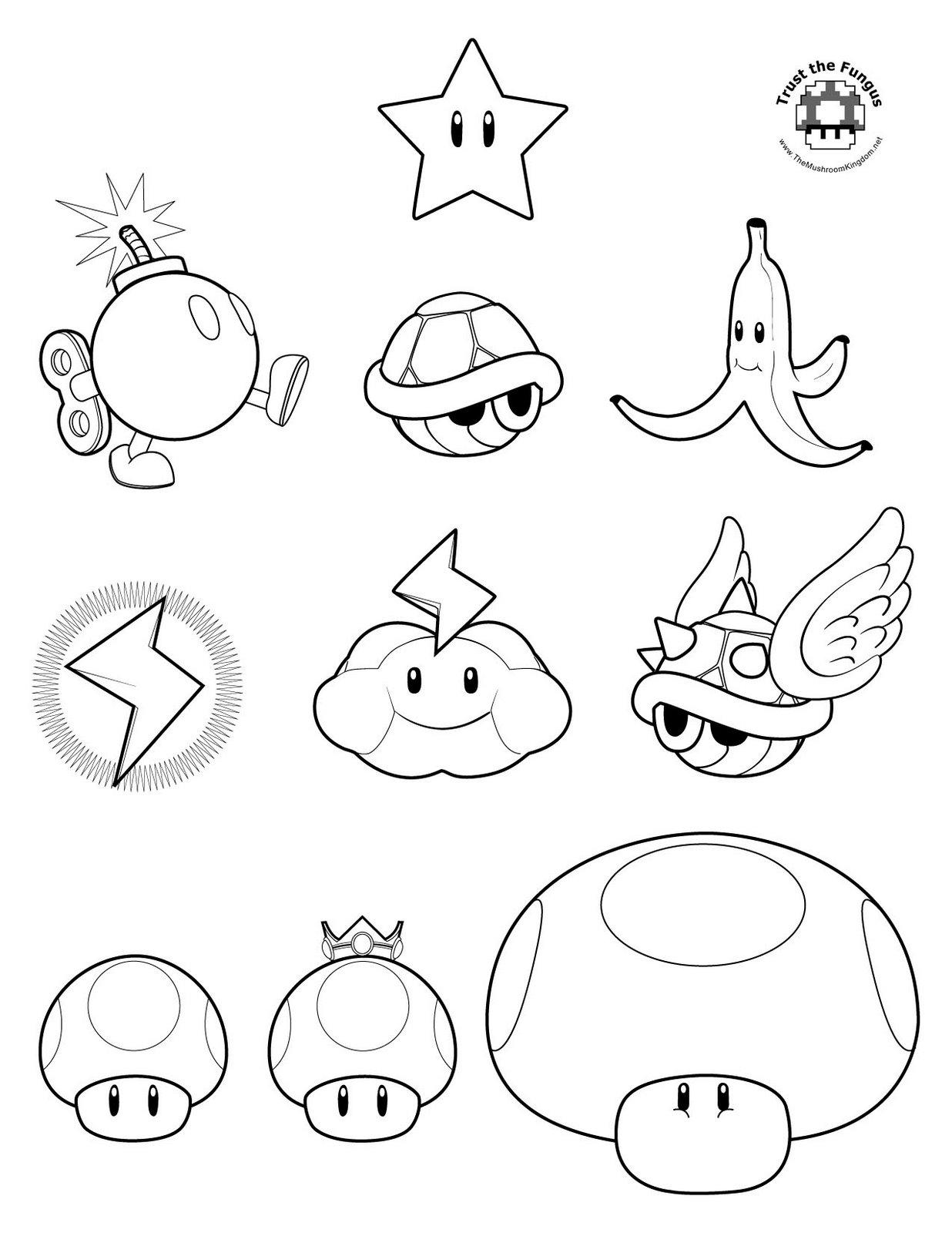 80 Dessins De Coloriage Super Mario Bros A Imprimer Sur Laguerche