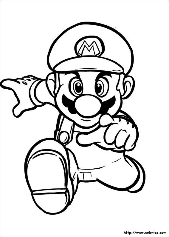 80 dessins de coloriage super mario bros imprimer sur page 4 - Mario en dessin ...