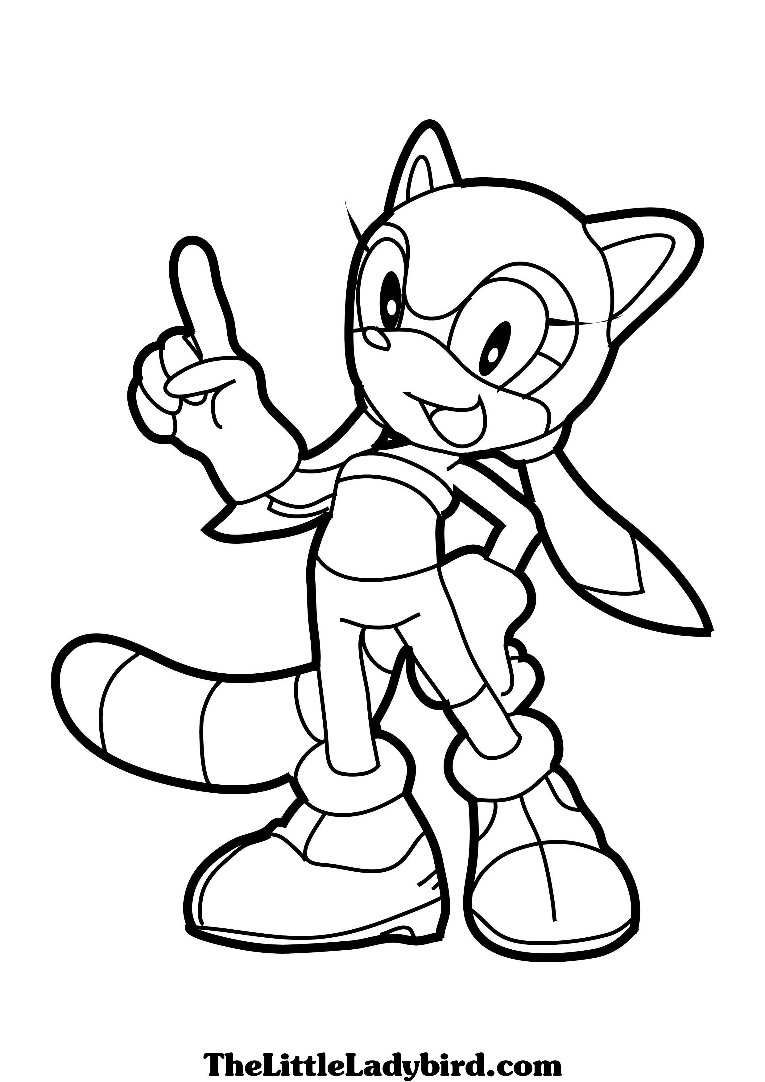 32 dessins de coloriage Super Sonic à imprimer sur ...