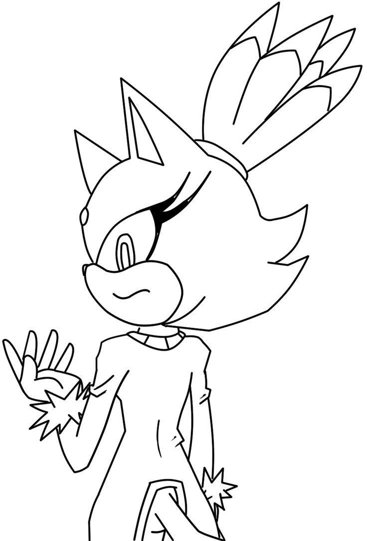 32 Dessins De Coloriage Super Sonic 224 Imprimer Sur