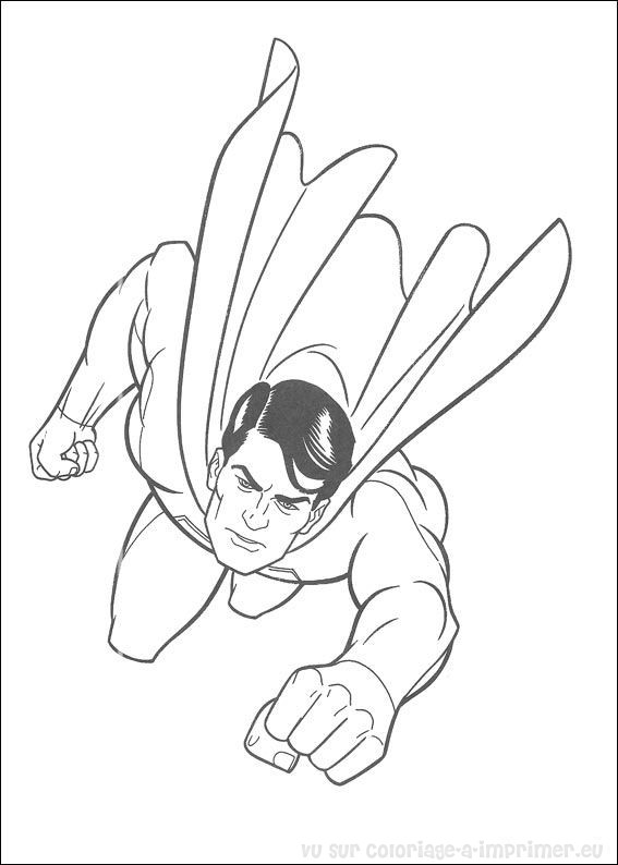 coloriage superman coloriage de coloriage superman