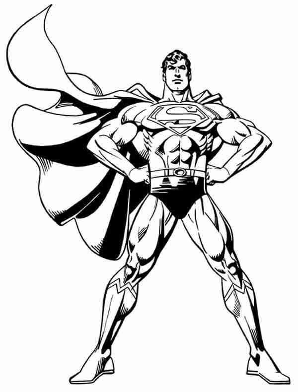 71 dessins de coloriage superman imprimer sur page 4 - Superman dessin ...