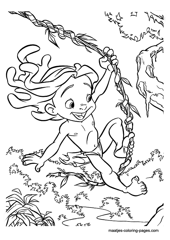 tarzan dessins à colorier tarzan dessins à colorier – enfants dessins à colorier