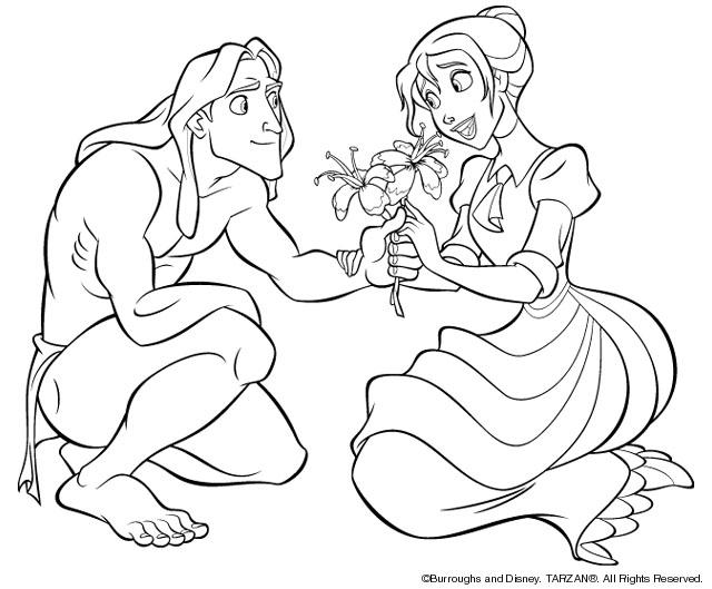 dessins à colorier tarzan dessins à colorier
