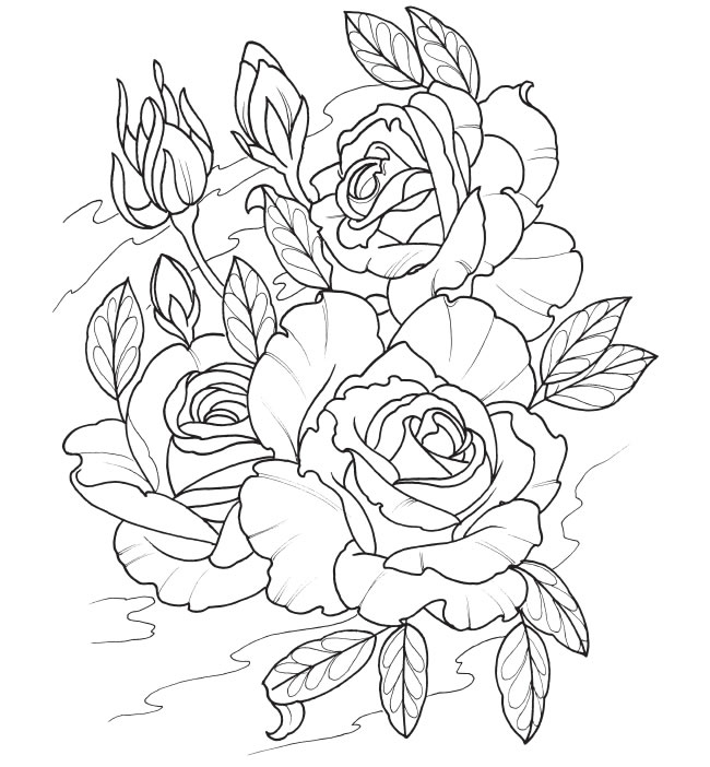 63 dessins de coloriage tatouage  u00e0 imprimer sur laguerche