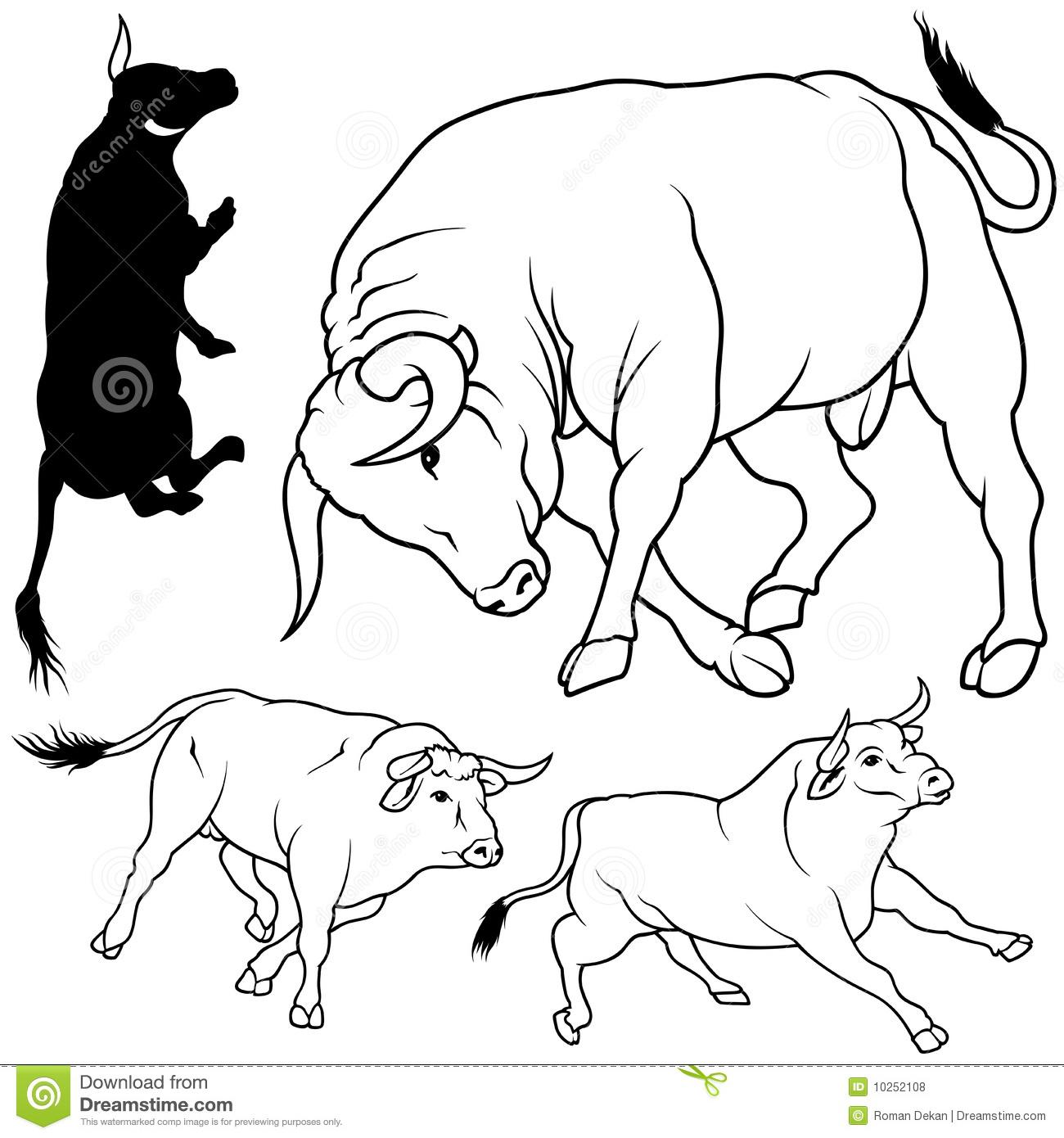 Sélection de coloriage taureau à imprimer sur LaGuerche ...